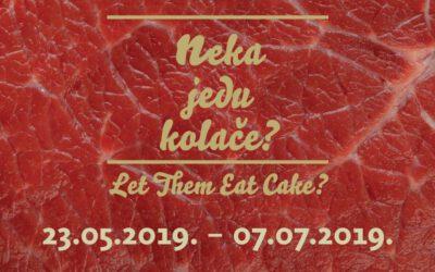Neka jedu kolače / Umjetnički paviljon u Zagrebu