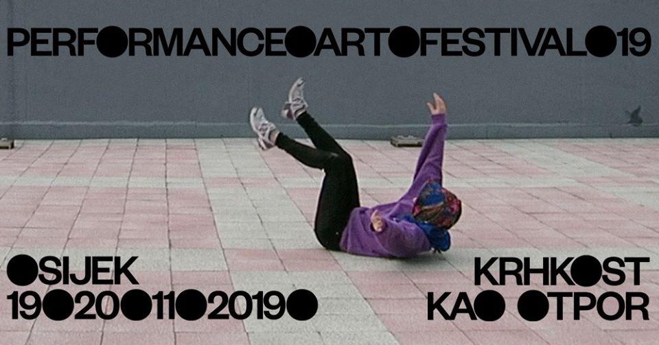 19. Performance Art Festival: Krhkost kao otpor